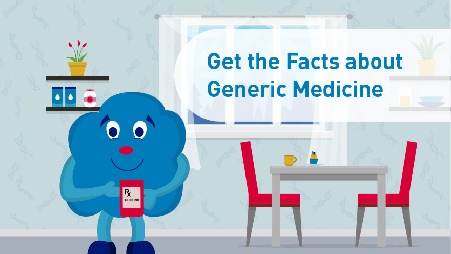 Get the Facts about Generic Medicine - infocard 3