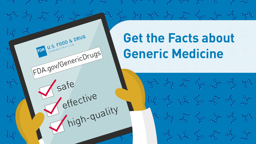 Get the Facts about Generic Medicine -  infocard 5