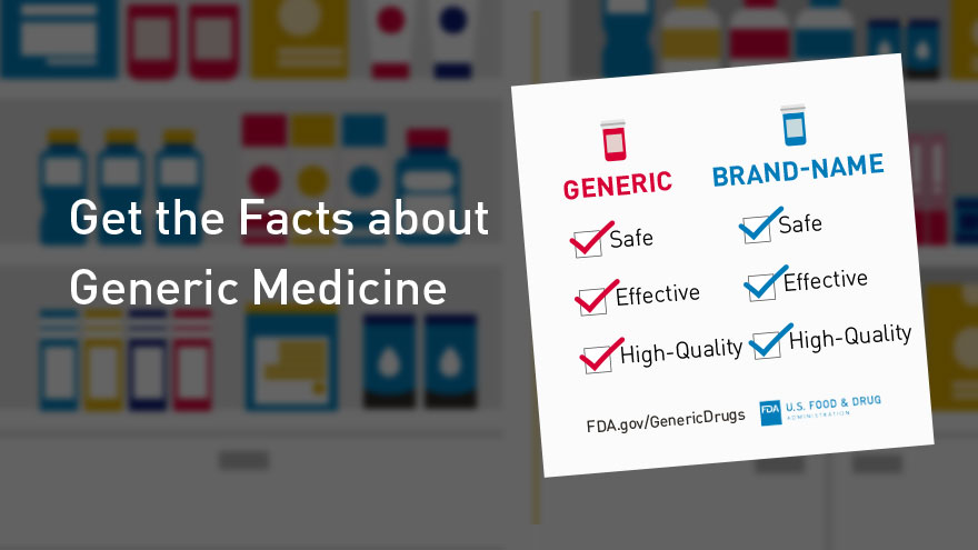 Get the Facts about Generic Medicine -  infocard 7