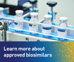 Learn more about approved biosimilars