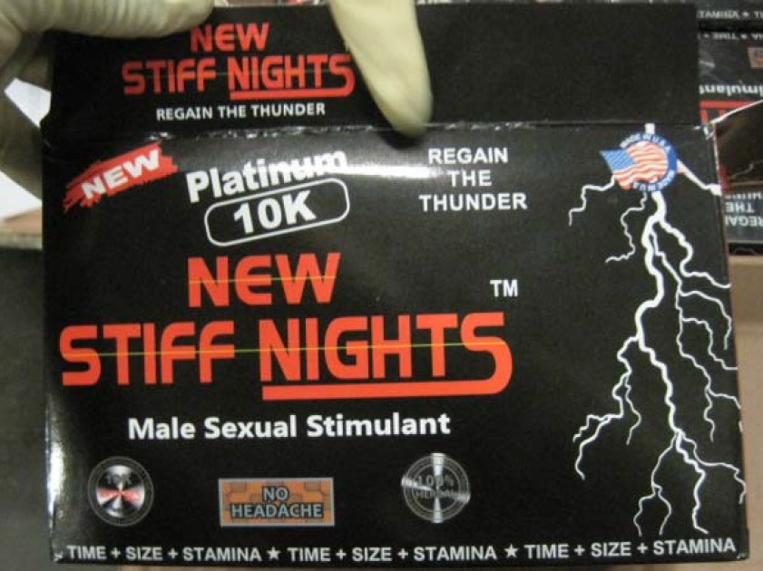 Image of New Stiff Nights Platinum 10K