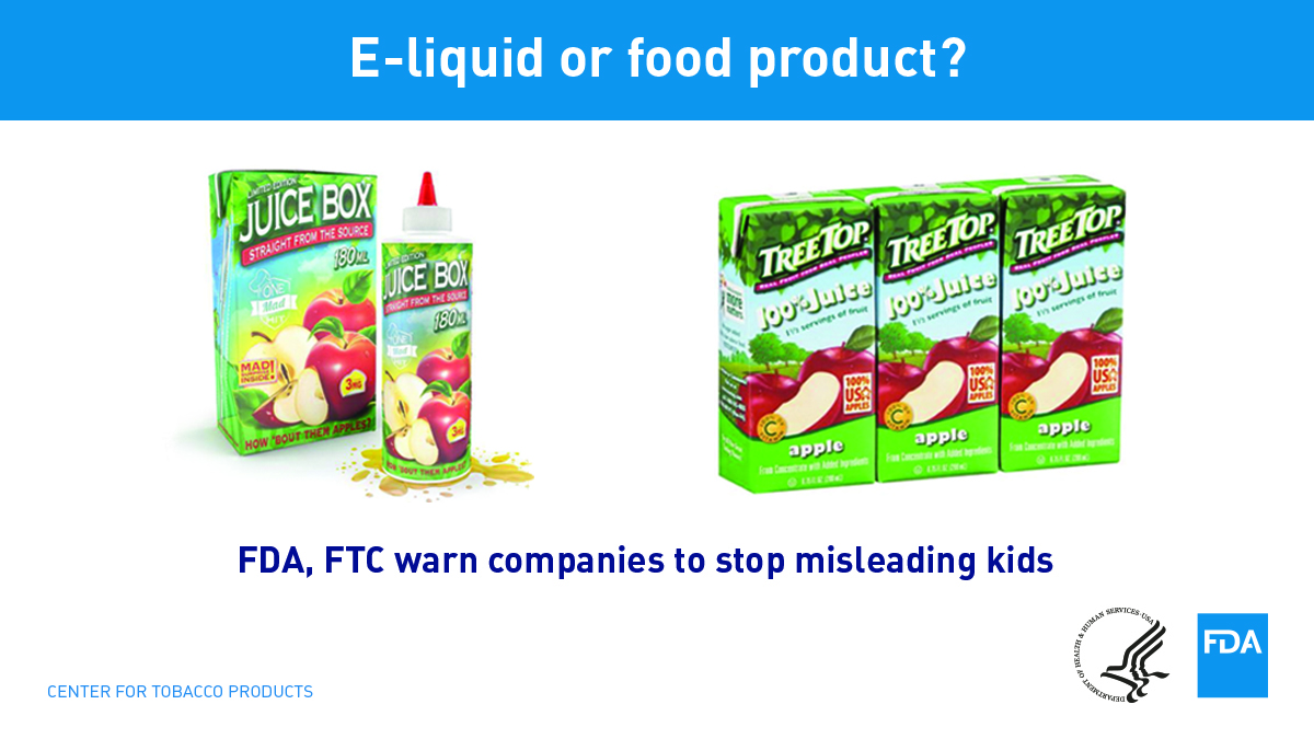 FDA, FTC warn companies to stop misleading kids