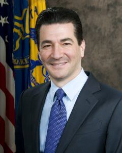 Commissioner Scott Gottlieb, MD