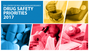 CDER Drug Safety Priorities 2017 image