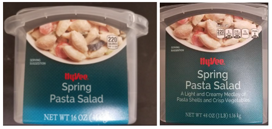 sample product image of Sring Pasta Salad