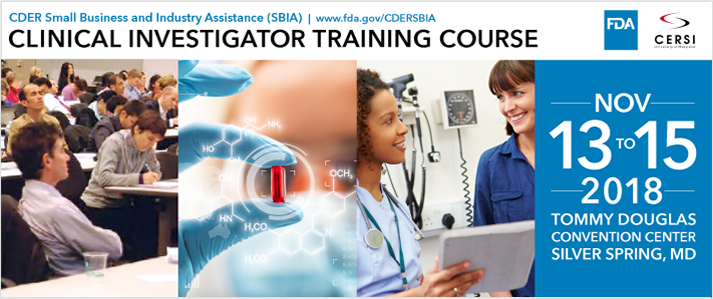 Image of Clinical Investigator Training Course 713x299