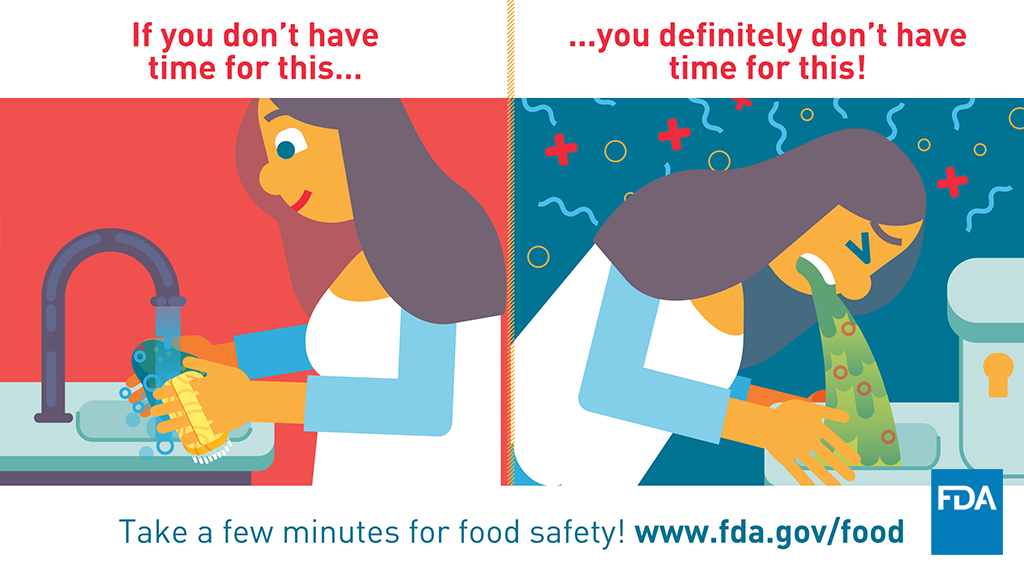 Take a Few Minutes for Food Safety