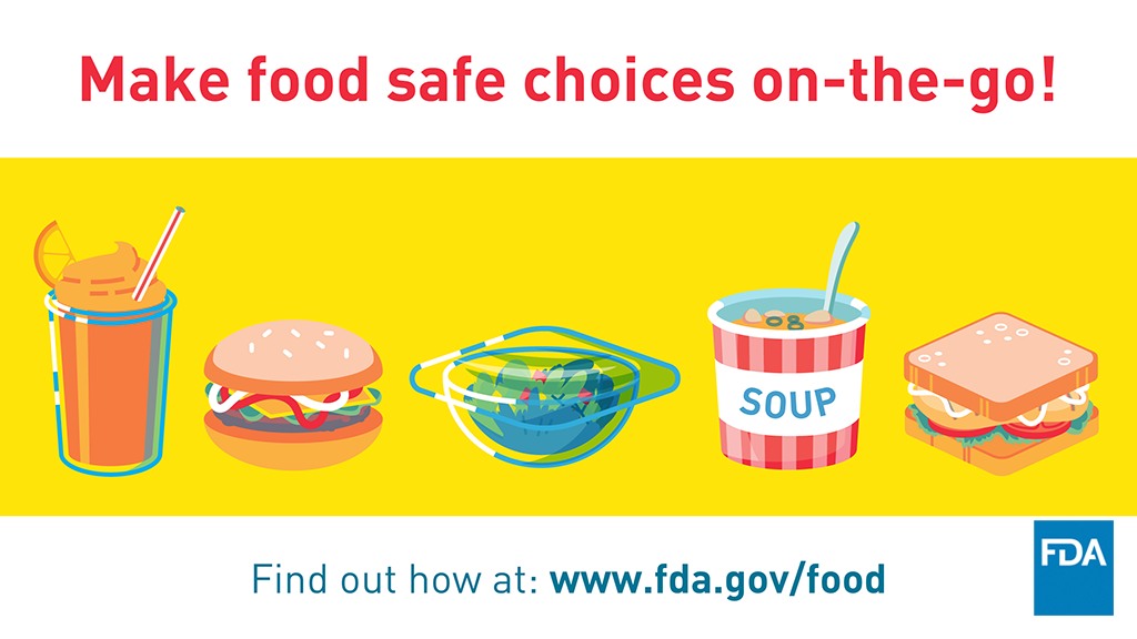 Make Safe Food Choices On-the-Go