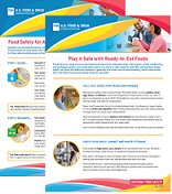 Everyday Food Safety Fact Sheets