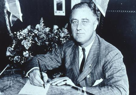 President Franklin Delano Roosevelt signing the 1938 Food, Drug, and Cosmetic Act