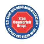 logo for stop counterfeit drugs