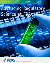Cover of the Strategic Plan for Regulatory Science