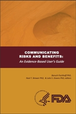 Cover of the report Communicating Risks and Benefits:  An Evidence-Based User