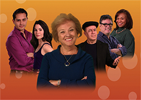 Characters from the Nunca Mas Novela Series