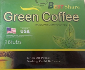 Best Share Green Coffee label