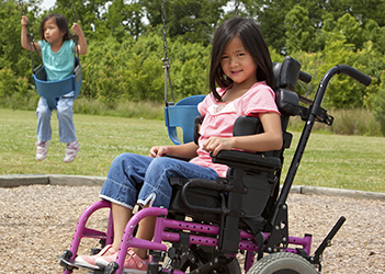 Making Medical Devices Safer at Home - girl in wheelchair