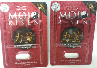 Mojo Risen Dietary Supplement package