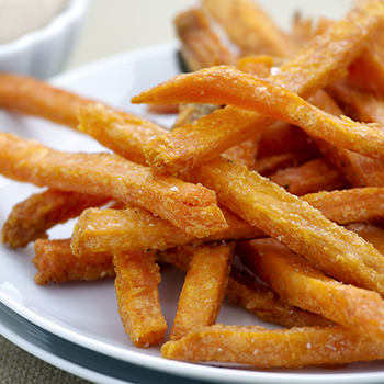 sweet potato fries on a plate (350x350)