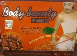 Body Beauty 5 Days Slimming Coffee