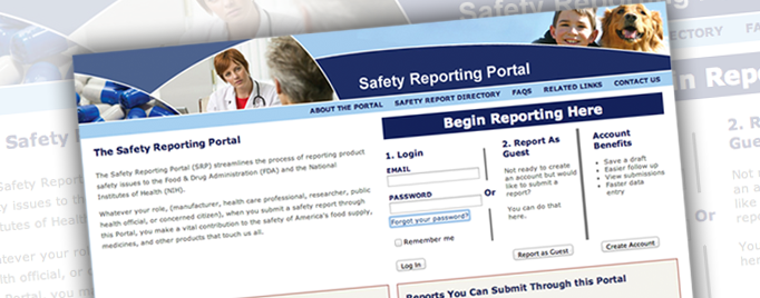 The Safety Reporting Portal