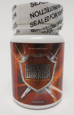 Image of Weekend Warrior bottle