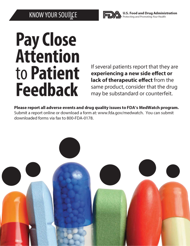 Pay Close Attention to Patient Feedback flyer
