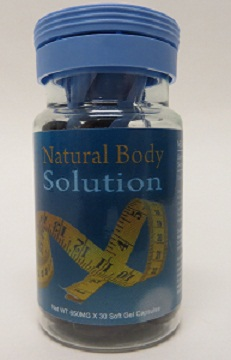 Image of Natural Body Solution bottle
