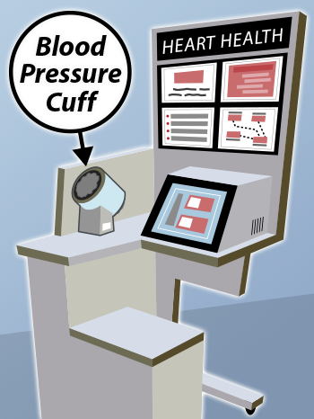Blood Pressure Monitoring Kiosk Art (350x466)