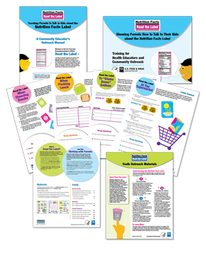 Nutrition Facts Label Education Material for Educators