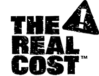 The Real Cost campaign logo