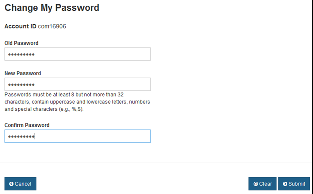 FDA Industry Systems: Password Management Step-by-Step