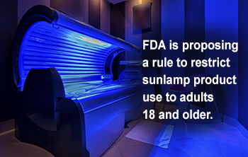 FDA Proposes New Safety Measures for Indoor Tanning Devices