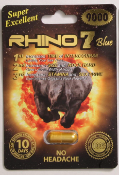 Image of Rhino 7 Blue 9000