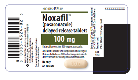 Noxafil Container Label