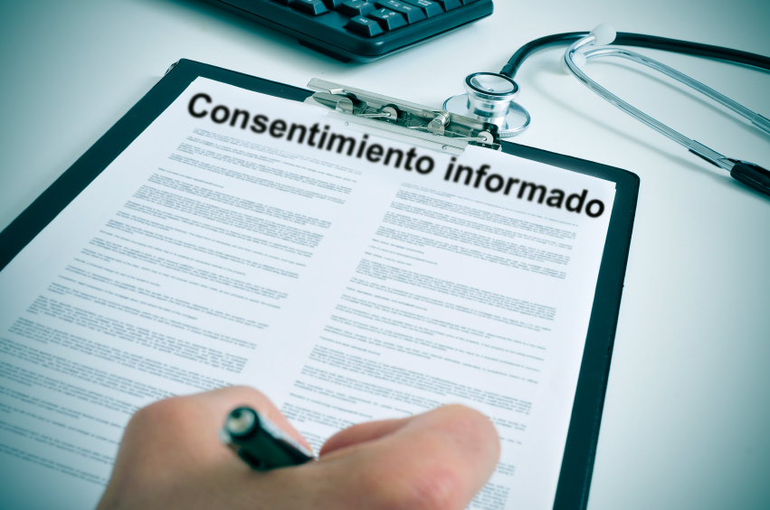 Informed Consent Image - spanish