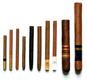 Cigars, Cigarillos, Little Filtered Cigars