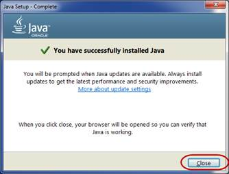 install current version of java