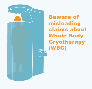 Whole Body Cryotherapy (WBC) illustration