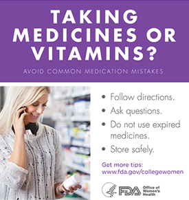 Order a Medication Tips Poster